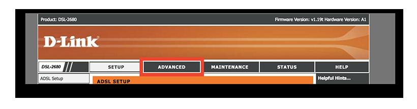 Guida di configurazione D-Link DSL-2680 con dynDNS.it