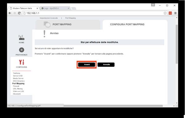 Guida di configurazione Port Forwarding DVR Dahua con dynDNS.it
