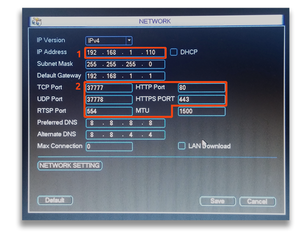 Guida di configurazione Port Forwarding DVR Dahua con dynDNS.it